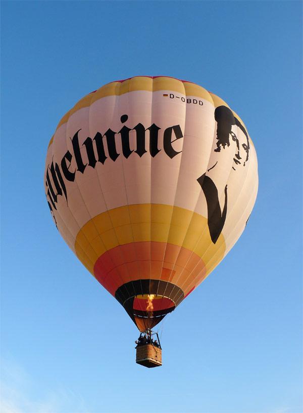Ballon Dresden Wilhelmine Reichard
