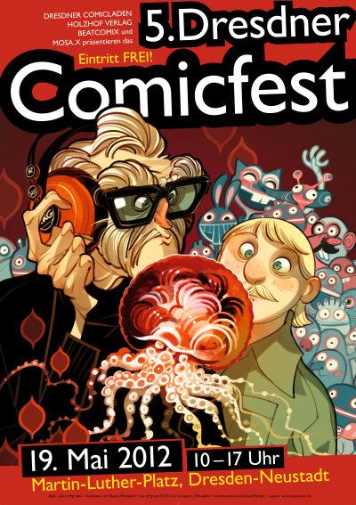 5. Comicfest Dresden 2012
