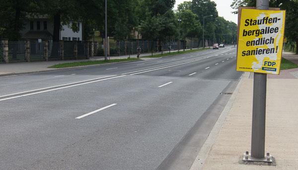 Sanierung Stauffenbergallee Dresden