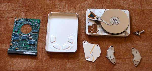 Starke Magnete aus recycelter Festplatte