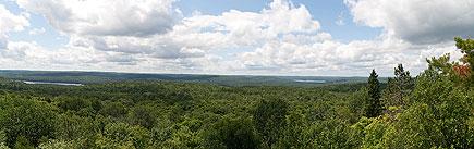 Algonquin Provincial Park Panorama