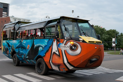 Motreal Stadtrundfahrt Amphibienbus