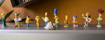 Überraschungsei Simpsons Figuren