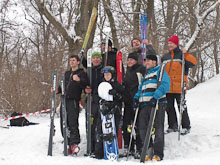 Skiprungmeisterschaft Alaunpark Dresden